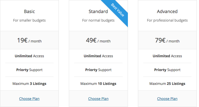 wpcasa-pricing-tables